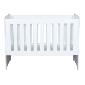 Lunar - Baby Cot all white