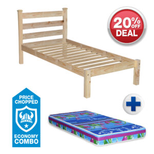 Single Connor Bed Economy - Combo