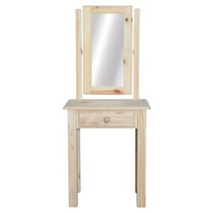 1 Drawer - Dressing Table - Square Mirror