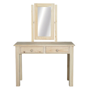 2 Drawer - Dressing Table - Square Mirror