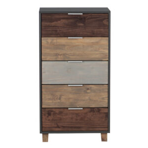 Chest of Drawers - 5 Drawer Everest Tallboy