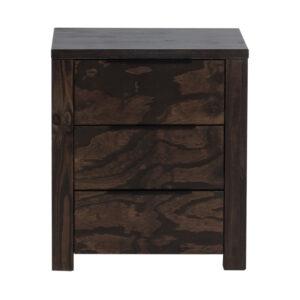 Rustic 3 drawer Pedestal