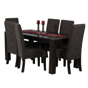 7 Piece Rustic Table and Chairs