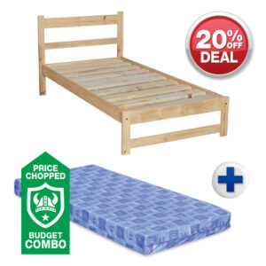 Single Budget Bed Combo