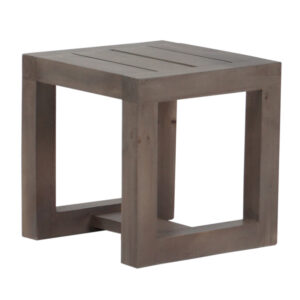 Patio Lamp Table from the side